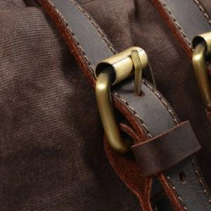 P13 WAX CHAMONIX™ Rucksack gewachstes canvas und echtes leder. Damen / Herren. 7 Farben